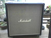 Marshall 1960A cab 4x12 McKenzie loaded