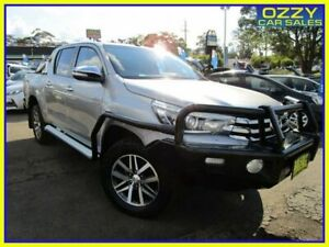 2016 Toyota Hilux GUN126R SR5 (4x4) Silver 6 Speed Automatic Dual Cab Utility Penrith Penrith Area Preview