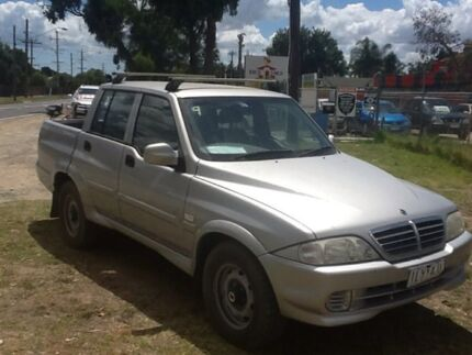 2006 Ssangyong Musso Sports Silver 5 Speed Manual Utility Hastings Mornington Peninsula Preview