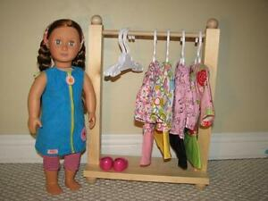American Girl - Doll Furniture, Beds, Clothes Racks, Living Room