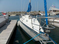 1980 HUGHES 26 with cradle and dingy: buy, lease, finance