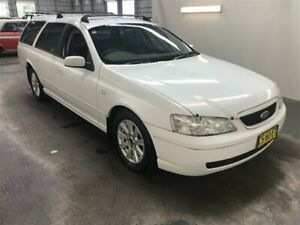2003 Ford Falcon BA Futura White 4 Speed Auto Seq Sportshift Wagon