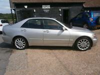 0505 LEXUS IS 200 2.0 AUTO SE NAVIGATOR 71K FSH PLATINIUM/LEATHER HEATED SEATS