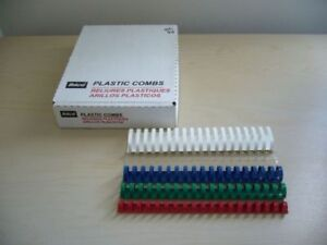 Plastic Combs 19 Rings Letter & Legal Size/Binding Tapes