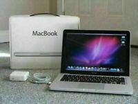 13' Apple MacBook Unibody 2Ghz Core2Duo 4Gb Ram 500GB HDD Logic Pro X Ableton 9 Reason Pro Tools 10