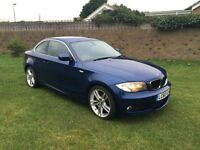 BMW 1 SERIES 3.0 125I M SPORT 2d 215 BHP 1 owner from new, low (blue) 2011