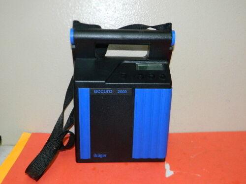 DRAGER ACCURO 2000 PUMP GAS ANALYZER TYPE 6400200