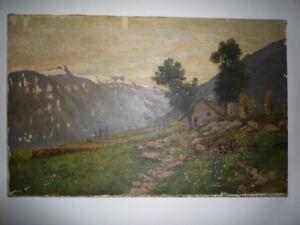 Norwegian mountains by H. H. Jerichau (Danish)