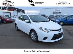 2015 Toyota Corolla FWD, Bluetooth, Back up Camera