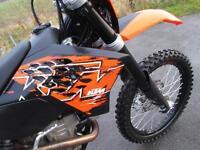 KTM 250 EXC F 2008 ENDURO ROAD REGISTERED ELECTRIC START MX MOTOCROSS BIKE