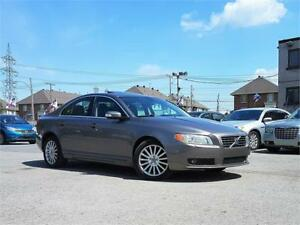 2009 Volvo S80/AUTO/AC/CUIR/MAGS/TOIT/CRUISE/GROUP ELECT/8PNEUS!