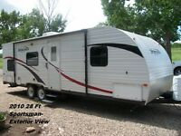 FOR RENT: 2010 28Ft Sportsman Travel Trailer