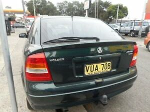 1999 Holden Astra TS CD Green Manual Sedan Croydon Burwood Area Preview