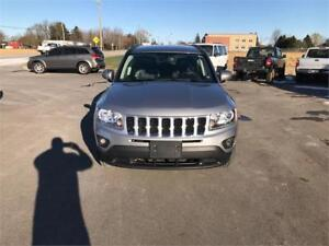 2014 Jeep Compass North Leather 4x4 ONLY 57KM