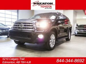 2014 Toyota Sequoia PLATINUM, 3M HOOD, NAVIGATION, DVD, LEATHER,