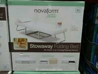 Novaform stowayaw folding bed