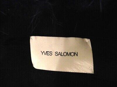 Magnifique veste fourrure renard bleu yves salomon taille m/l parfait