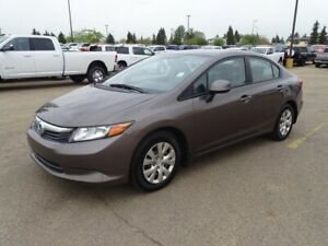 2012 Honda Civic Sdn LX Accident Free,  Bluetooth,  A/C,