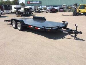 "NEW 2017 ANDERSON 82"" x 20' STEEL FLOOR CAR HAULER"