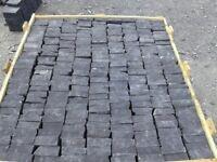 Black Limestone Paving Setts