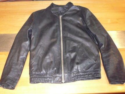 Veddel motor bike jacket, genuine leather Myaree Melville Area Preview