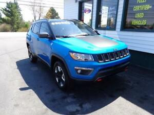 2017 Jeep Compass Trailhawk 4x4 for only $242 bi-weekly all in!
