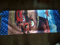 Disney's Cars Sleeping Bag with Lightning McQueen