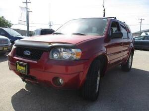 2006 FORD ESCAPE LIMITED 4WD, HEATED LEATHER, SUNROOF $5,950