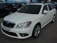 2012 SKODA OCTAVIA 2.0 TDI CR vRS DSG Auto HALF LEATHER