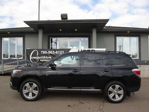 2013 Toyota Highlander Sport 4WD- Leather-Sunroof-7 Passenger