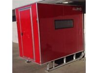 Aluminum Storage Shed / Ice Shack on Skids