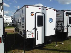 2018 Palomino Real Lite HS1802 Ultra Lite Truck Camper w toilet