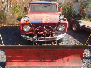 1968 Ford Bronco Plow truck