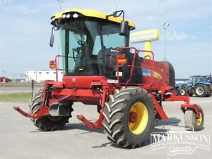 2012 New Holland H8080 & 36HB Swather BELOW COST! - 226hp, GPS
