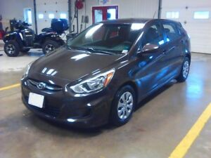 2016 Hyundai Accent GL hatchback with new winter tires