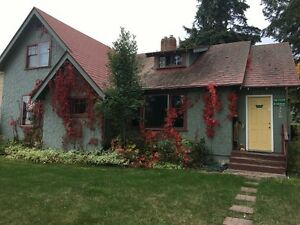 main Level of House - 2 bedroom  + den  for rent in Salmon Arm