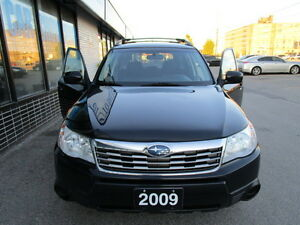 2009 Subaru Forester AWD SUV,NO ACCIDENT,CERTIFIED,WARRANTY,AC