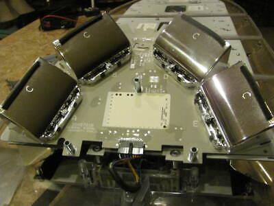 Federal Signal Arjent S2 Amber Complete Corner Led Lights Module Super Clean