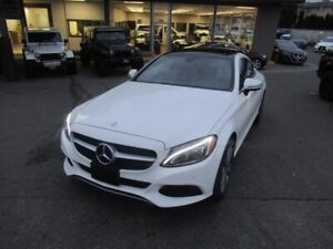 2017 Mercedes Benz C-Class C300 COUPE - 4MATIC