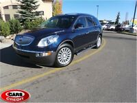 2009 Buick Enclave CXL, HEATED LEATHER SEATS, DVD, DUAL SUNROOF