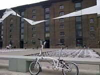 Rare WHITE M3L Quintessential Brompton ready for pick up in Kings Cross