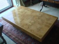 Heals Retro Vintage 6 Burr Walnut Coffee Table