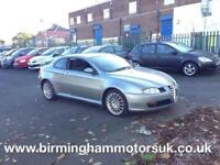 2005 (55 Reg) Alfa Romeo GT GT 2.0 JTS 2DR Coupe GREY + LOW MILES