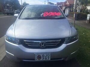 2004 Honda Odyssey 3rd Gen Luxury Wagon 7st 5dr Spts Auto 5sp 2.4i Silver Sports Automatic Wagon Croydon Burwood Area Preview