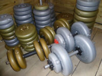 Plastic weights (Large amount)