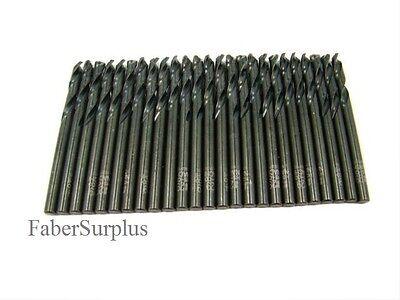 25 Ea 29 Cobalt Drill Bit Jobber Length .136