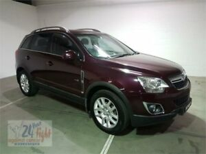 2012 Holden Captiva CG Series II MY12 5 Burgundy Sports Automatic Wagon Campbelltown Campbelltown Area Preview