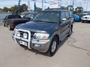 2002 Mitsubishi Pajero NM MY2002 Exceed Green 5 Speed Sports Automatic Wagon Gepps Cross Port Adelaide Area Preview
