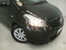 2014 Toyota Yaris NCP131R YRS Black 4 Speed Automatic Hatchback Edgewater Joondalup Area Preview