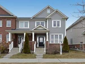 3 Bdrm End Unit Freehold Townhome - Open Concept Layout!